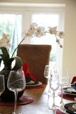 Table and window Royalty Free Stock Images