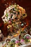 table2婚礼 免版税库存图片