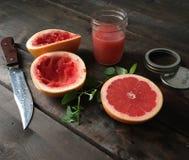 Tableau avec des fruits Photo libre de droits