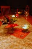 Tableau avec la décoration de Noël Image libre de droits
