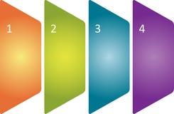 Tableau blanc d'affaires de management Photos libres de droits
