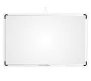 Tableau blanc d'espace vide Photos stock