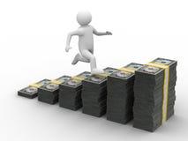 Tableau d'accroissement financier Image libre de droits