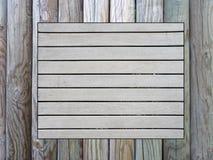 Tableau d'affichage en bois Photos libres de droits