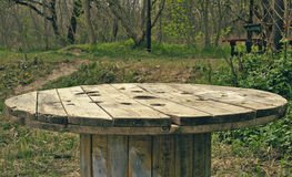 Tableau dans la forêt Photo stock