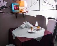 Tableau dans le restaurant Image stock