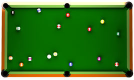 Tableau de billard Photos libres de droits