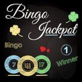 Tableau de bingo-test illustration stock
