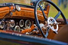 Tableau de bord d'automobile Image libre de droits