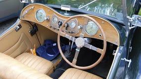 Tableau de bord d'un roadster anglais #3 images libres de droits