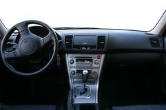 Tableau de bord d'un véhicule image stock