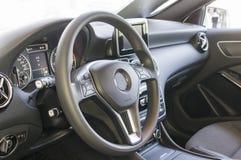 Tableau de bord d'une voiture Images stock