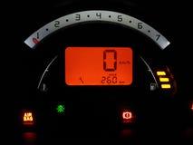 Tableau de bord d'une voiture Image stock