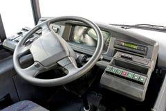 Tableau de bord de bus Photo libre de droits
