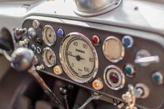 Tableau de bord de camion de vintage Photographie stock libre de droits