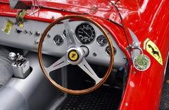 Tableau de bord de Ferrari de cru Image libre de droits