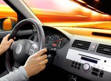 Tableau de bord de véhicule images libres de droits