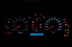 Tableau de bord de véhicule de première qualité Images stock