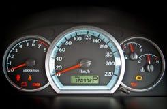 Tableau de bord de voiture Photographie stock