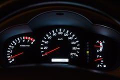 Tableau de bord de voiture Photographie stock libre de droits