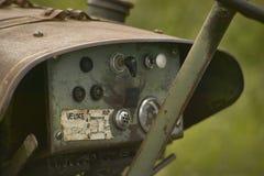 Tableau de bord du ` s de tracteur photo stock
