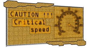 Tableau de bord moderne illustration libre de droits