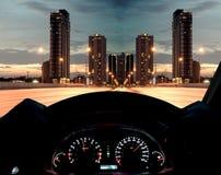 Tableau de bord de vitesse photos libres de droits
