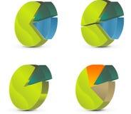 tableau de cercle Photographie stock