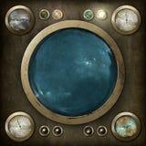 Tableau de commande de Steampunk Photos libres de droits