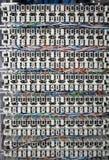 Tableau de connexions Images stock