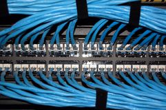 Tableau de connexions Photographie stock