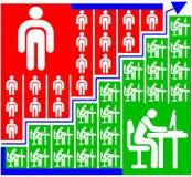 Tableau de fonctionnement Images libres de droits