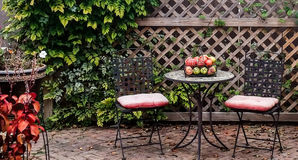 Tableau de jardin photo stock