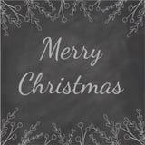 Tableau de Joyeux Noël illustration stock
