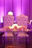 Tableau de mariage Photo stock