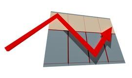 Tableau de statistique Images stock