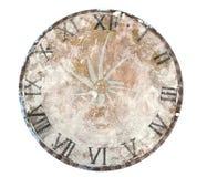 Tableau de visage d'horloge Images libres de droits