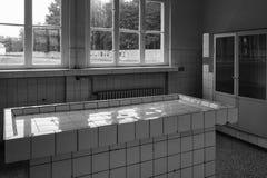 Tableau des autopsies et des expériences, camp de concentration de Sachsenhausen, Berlin photos libres de droits
