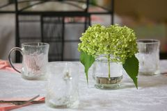 Tableau dinant élégant Images stock