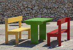Tableau et sièges photos libres de droits