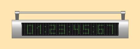 Tableau indicateur électronique Images stock