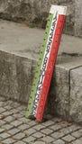 Tableau indicateur de Bocce Photographie stock