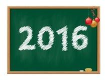 Tableau noir 2016 image stock