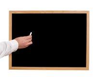 Tableau noir blanc Images libres de droits