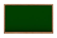 Tableau noir dans 3d Images libres de droits