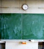 Tableau noir dans une école Photo stock