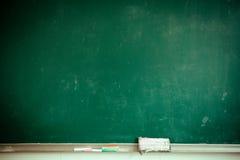 Tableau noir de salle de classe Image stock