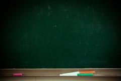 Tableau noir de salle de classe photos stock