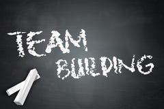 Tableau noir Team Building Images libres de droits