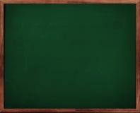 Tableau noir vert de tableau Images stock